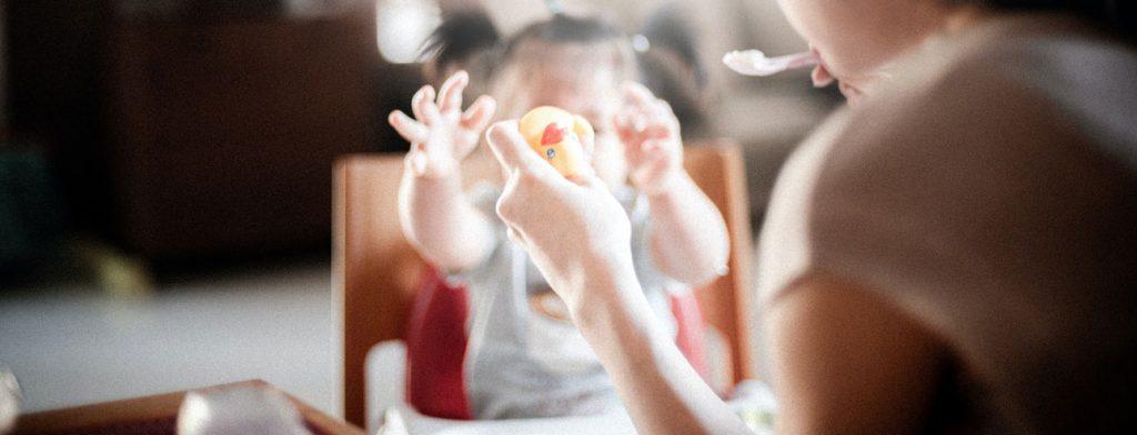 Hoeveel moet een baby eten?